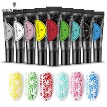 BORN PRETTY-Conjunto de esmaltes de Gel para uñas, barniz de Gel UV para estampación de uñas, 11g, para placas de estampado para manicura