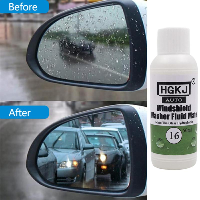 Super Hydrophobic Coating Car Window Glass Cleaner Anti-fog Agent Lasting Anti-rain Waterproof Spray Auto Care Accessories TSLM1