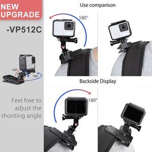 Image 3 - Vamson Pro עבור 9 8 אביזרי 360 תואר סיבוב קליפ עבור GoPro גיבור 9 8 7 6 5 4 3 + עבור יי 4K עבור SJCAM עבור SJ4000 VP512