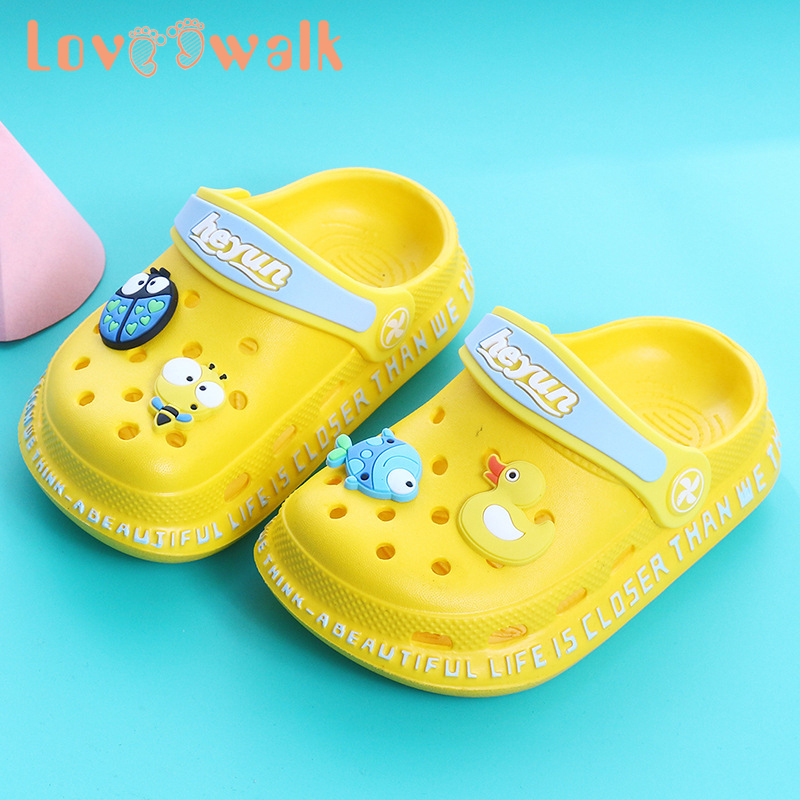 Garden Beach Childrens Sandals Girls Summer Kids Holiday Jelly Shoes