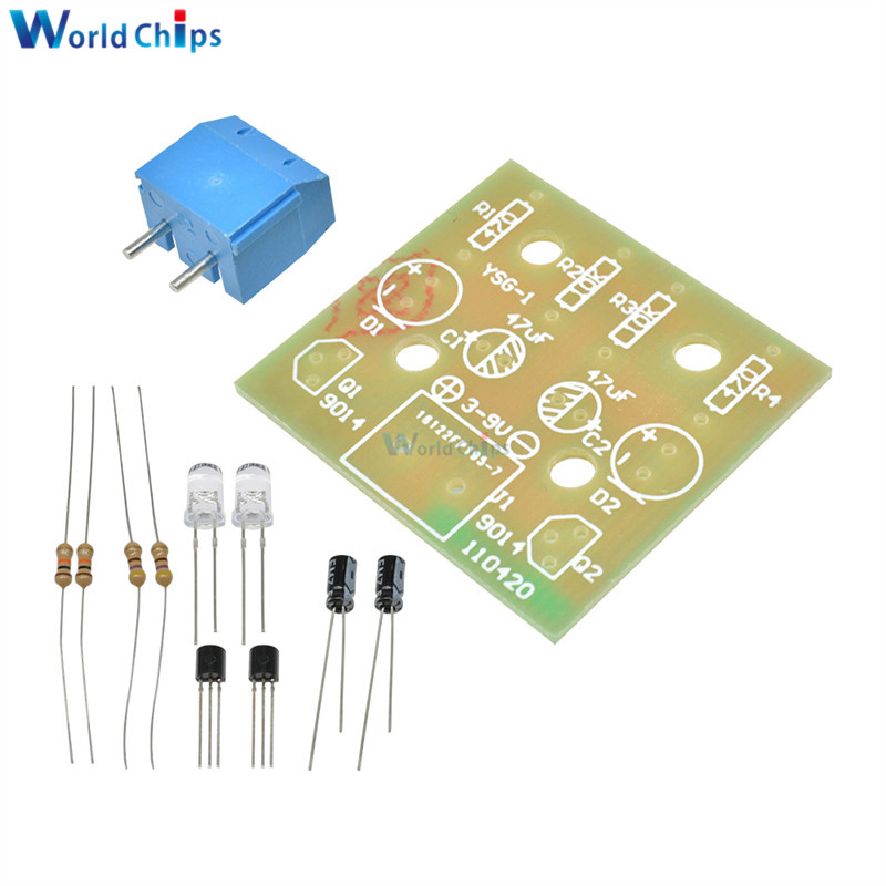 1PCS Simple Flash Circuit//Electronic Production//Electronic Suite//DIY Kits
