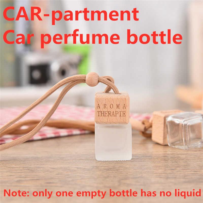 Nieuwe Auto Parfum Hanger Lege Fles Voor Essentiële Oliën Luchtverfrisser Auto Ornament Auto-Styling Auto Accessoires Decoratie TSLM2