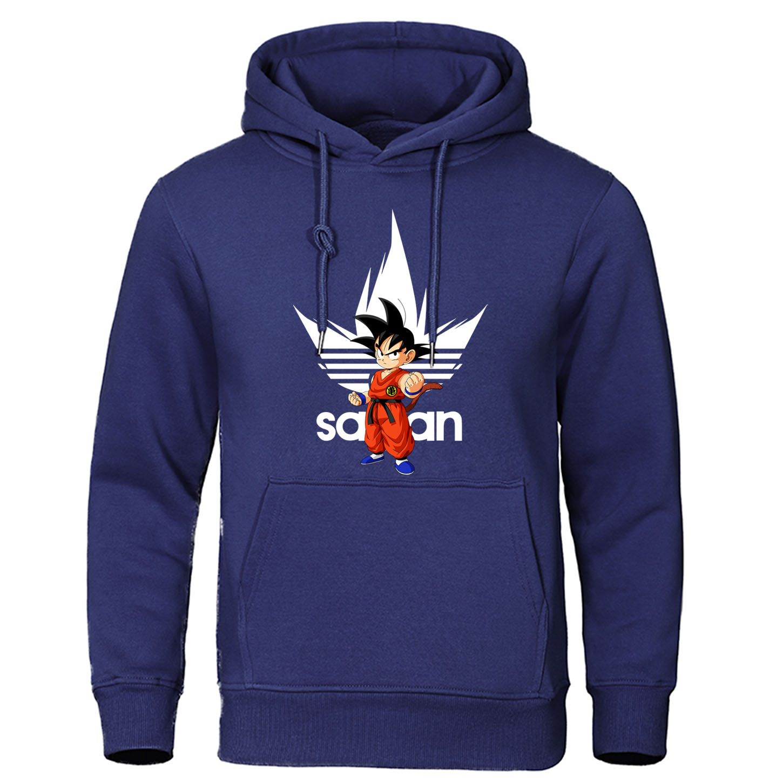 Dragon Ball Sweatshirts DragonBall Z Dbz Goku Hoodies Japanese Anime Pullover Men Harajuku Casual Streetwear Fashion Tracksuit