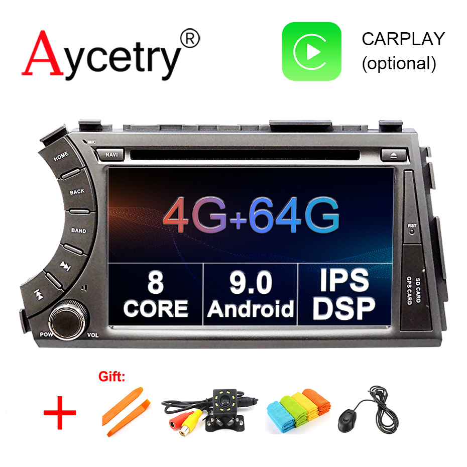 4G 64G 8 CORE 2 din Android 9 0 car dvd multimedia player GPS Navigation audio