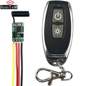 Image 2 - Мини беспроводной пульт дистанционного управления, 433 МГц, 3,7 В, 4,5 В, 6 в, 12 В