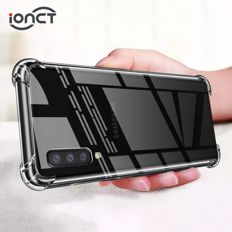 IONCT Shockproof TPU Case For Samsung A50 A70 A40 A30 A20 A10 Case For Note 10