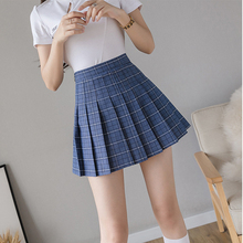 Plaid Skirts Shorts Dance Pleated-Striped Golf Sexy Mini Winter Woman Summer High-Waist