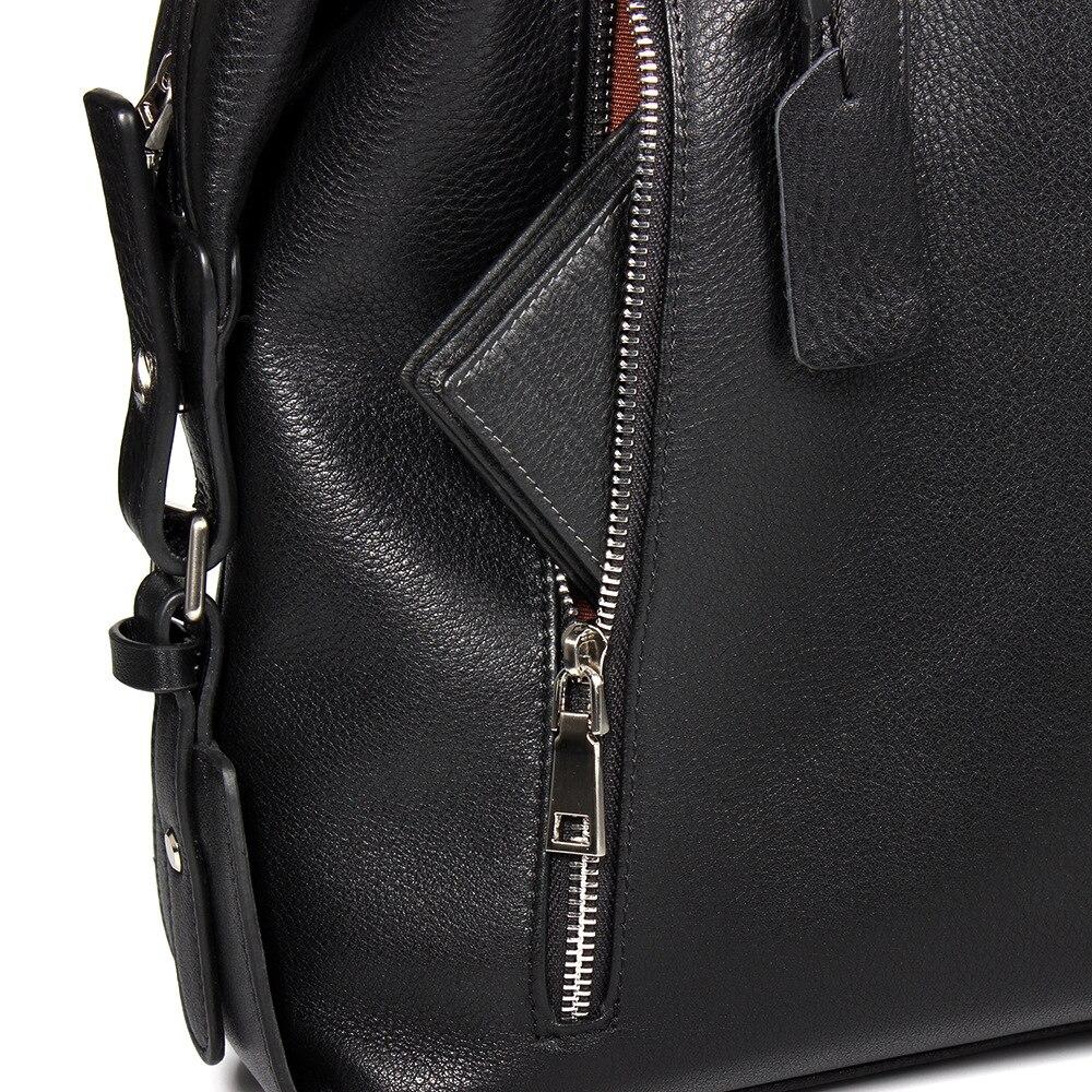 Мужская сумка из натуральной кожи, мужской деловой портфель, кожаная мужская сумка, новая модная мужская повседневная сумка тоут - 4