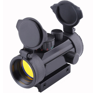 New 1x40 Holographic Red Dot 10mm 20mm Rail Riflescope Collimator Sights for Hunting Shockproof Waterproof Optical Sight CS2-047