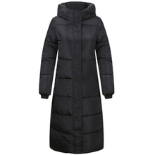 L-4XL Casaco Feminino Hooded Plus Size Winter Coat Women Down Female Parka X-long Coats Solid Color Printing Outwear