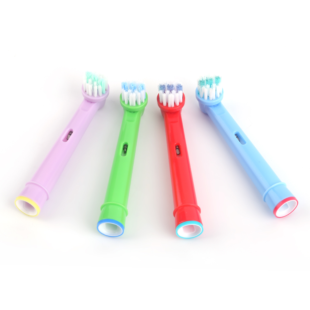 NEW 4Pcs/Set Electric Toothbrush Heads Tooth brush Replacement Brush Head for Oral B 3D Philips Replacement Soft-bristled image