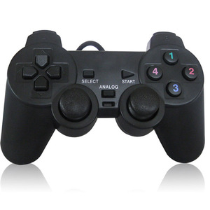 Image 2 - Wired USB2.0 Game Controller Joystick Gamepad for PC Computer Laptop Game Joystick Console For PlayStation 2 For PS2