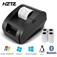 58mmThermal Bluetooth Printer Pos Receipt Printer With Bluetooth USB Port For Mobile Phone Windows Support Cash Drawer|Printers| |  -