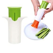 Нож для резки моркови, огурца, нержавеющрй стали спиральная лезвия резак салат кухонные инструменты приспособление инструмент для фруктов ...