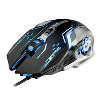 YWYT G815 Gaming Mouse 3200Dpi 6 Buttons Led Backlight Usb Wired Optical Mice for Q1W