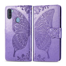Чехол-бабочка для Samsung Galaxy A 11 10 20 30 31 41 40 51 50 60 70 80 90 91 2 01 E флип-чехол из искусственной кожи чехол для телефона Funda
