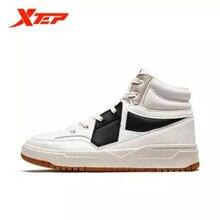 Xtep высокие кроссовки 2020 осень новая женская обувь Корейская