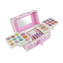 Игрушки Парикмахерская принцессы набор нетоксичных ролевых игр с косметическим чехлом обучающая игрушка для девочек подарок на день рождения