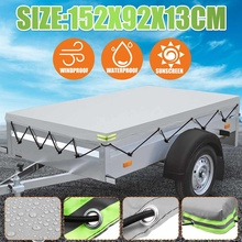 Dust-Protector Cover Trailer Roof-Tent Waterproof Outdoor Canopy Truck Auto with Rubber-Belt