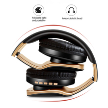 Wireless Headphones Bluetooth Headset Foldable Stereo Headphone Gaming Earphones With Microphone For PC Mobile phone Mp3 стоимость