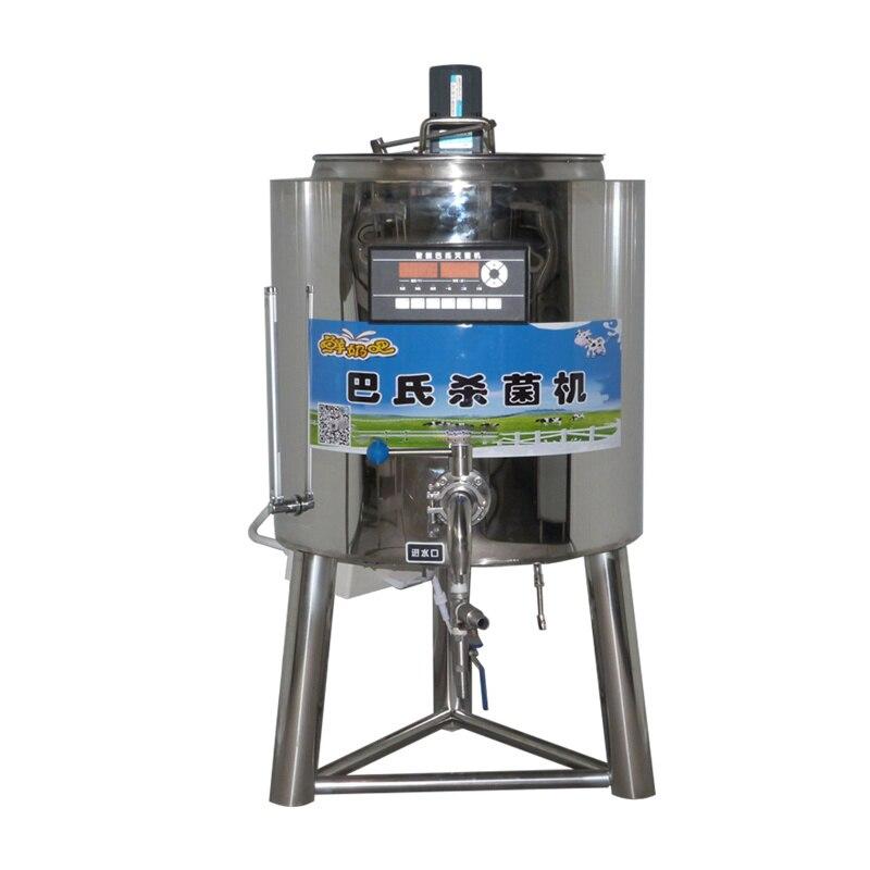 Commercial Milk Pasteurizer 50L/time Pasteurization Machine YX-MJJ Yogurt/Fresh Milk Sterilizer For Dairy Farm/pasture/ranch 6kw