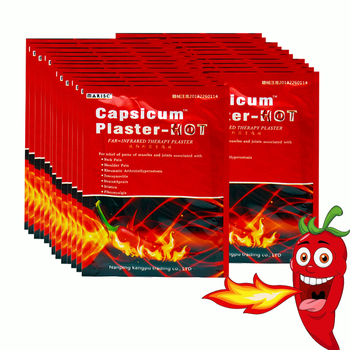 160Pcs Capsicum Plaster Hot Pain Relieving Patch Muscle Strain Back Knee Joint Ache Chinese Medical Massage