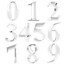 Stickers Sign 5cm 0-To-9 Door-Number Address Apartment Self-Adhesive Office-Door Hotel