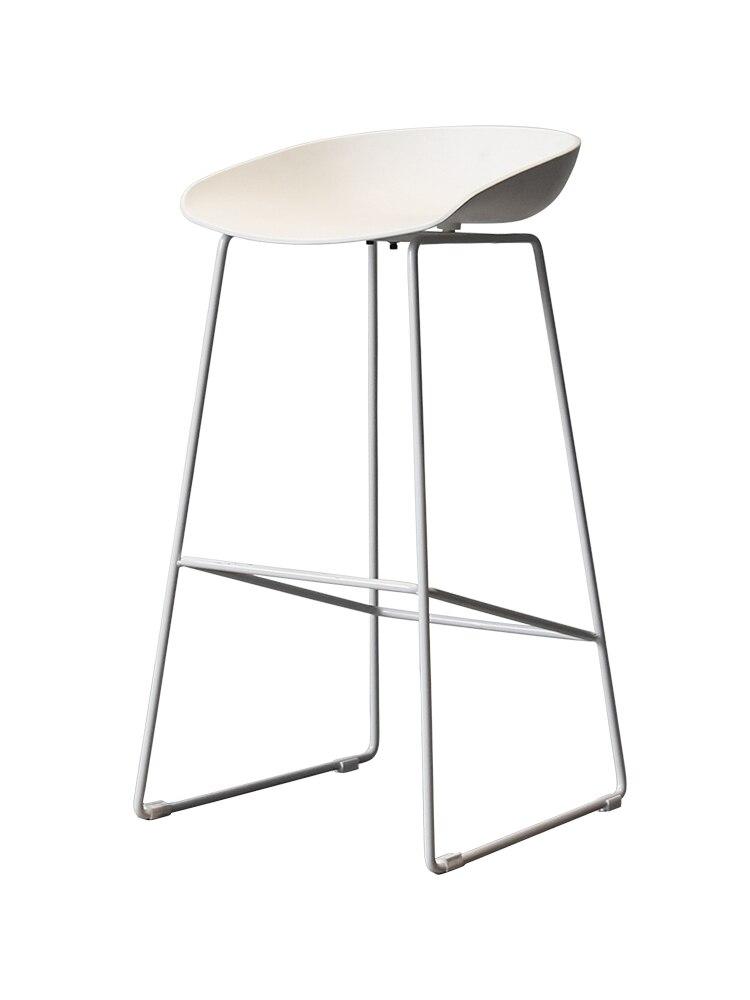 Nordic Modern Gold Wire Bar Chair Back Bar Bar Chair Front Desk High Stool Bar Stool