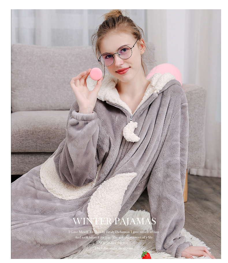 winter bathrobe