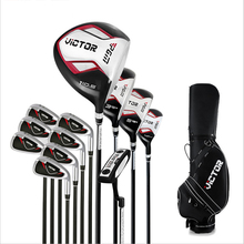 12 golf clubs professional men's full set of golf clubs 12 club carbon swing entry-level players practice golf clubs clubs
