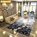 RFWCAK alfombra geométrica nórdica para Sala de estar dormitorio antideslizante alfombra grande alfombra para el suelo Yoga Tapete Sala alfombras decoración hogar