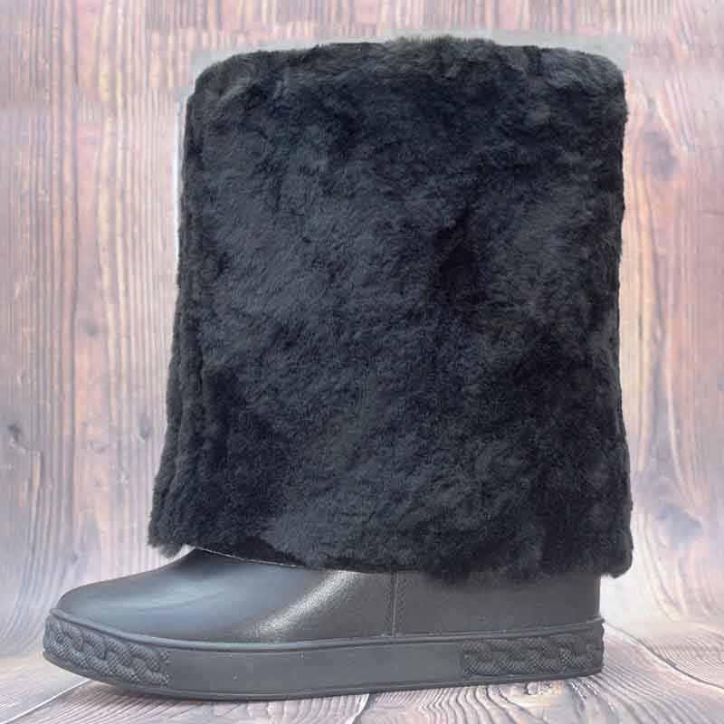 Inverno Stivali Donne Mid-Vitello Bota Feminina Zeppe Scarpe per Le Donne Caldo Botas Mujer Fashion Botines Mujer 2020 Zapatillas mujer