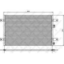 Радиатор кондиционера VW Sharan, Ford Galaxy 95 STELLOX 10-45310