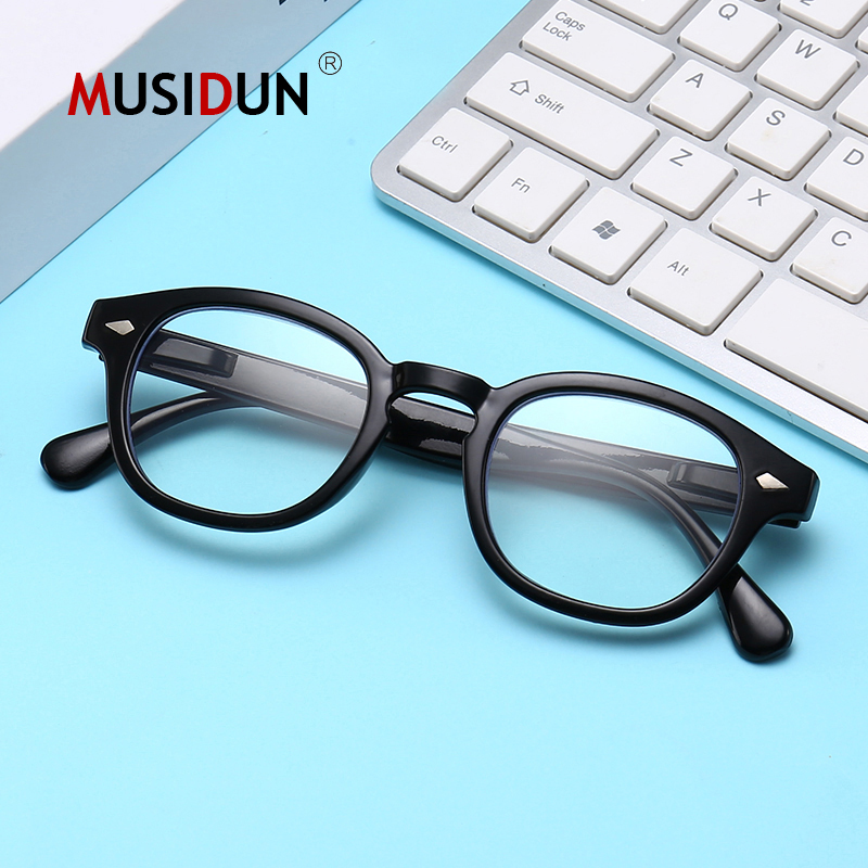 High Quality Johnny Depp Reading Glasses Man Women Uv400 Anti-blue Light Presbyopic Diopter +1.0+1.5+2.0+2.5+3.0+3.5+4.0 Q18200
