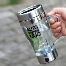 Transparent Automatic Self Stirring Mug Coffee Mixing Mug Plastic Thermal Cup Electrical Lazy Double Insulated Smart Cup #LR3