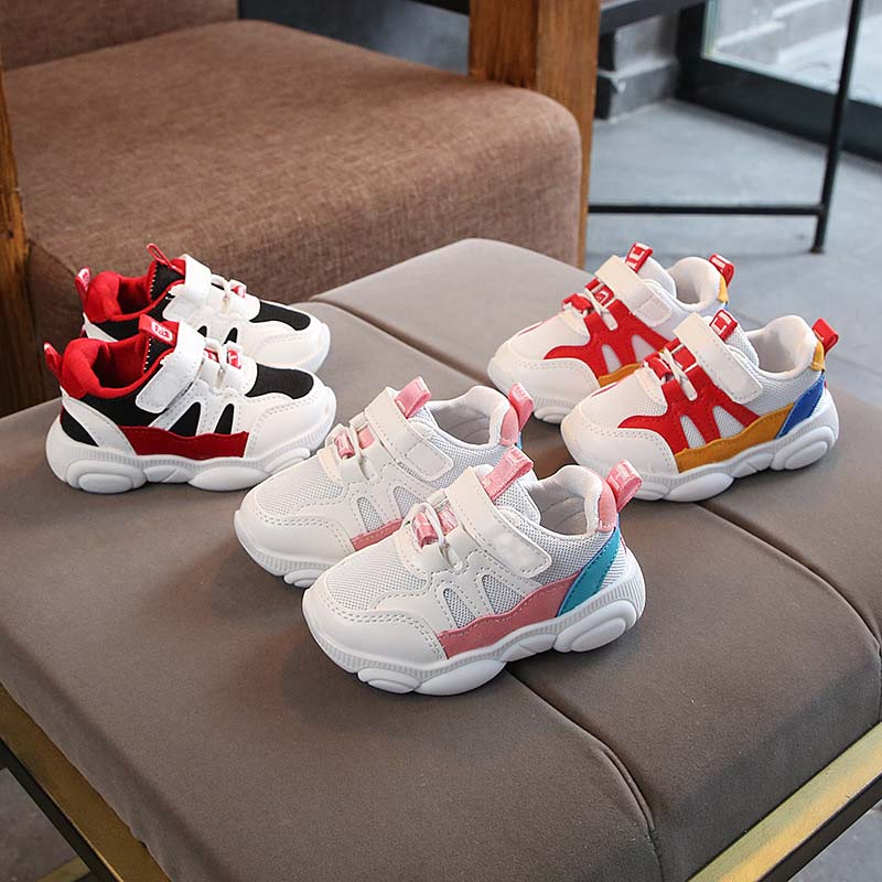 New infant tennis brand printing LED lighted children sneakers hot sales casual cool baby kids shoes sports boys girls