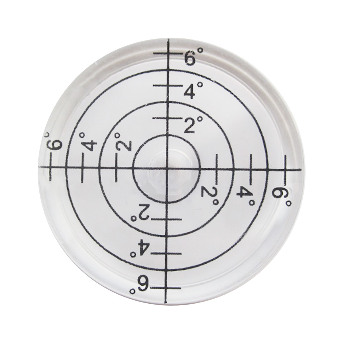 Precision Spirit Bubble Level Degree Mark Surface Round Circular Measuring Kit