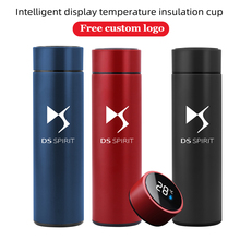 Vacuum-Water-Cup DS5 S4S Intelligent Customize-Logo DS3 Temperature-Display 500ML
