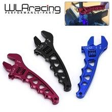 WLR RACING-Ajustável UM 3 4 6 8 10 12 AN3-AN12 WLR-SLW0601 spanner WRENCH ferramenta de Encaixe DA MANGUEIRA de alumínio de Alumínio