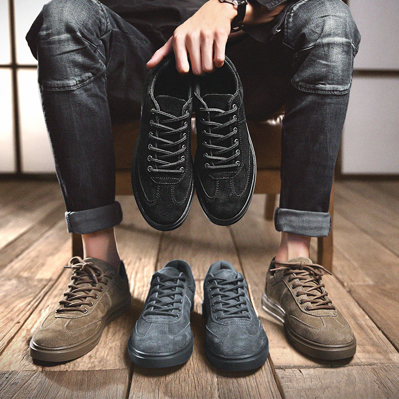 Spring And Autumn Men's Shoes High-quality Men's Shoes Light And Comfortable Shoes Simple Trend Men's Shoes Sneakers