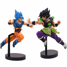 23cm Anime Dragon Ball Z Super Ultimate Soldiers The Movie Broly Son Goku PVC Action Figure Collectible Model Toys Doll Gift cd sweet action the ultimate story