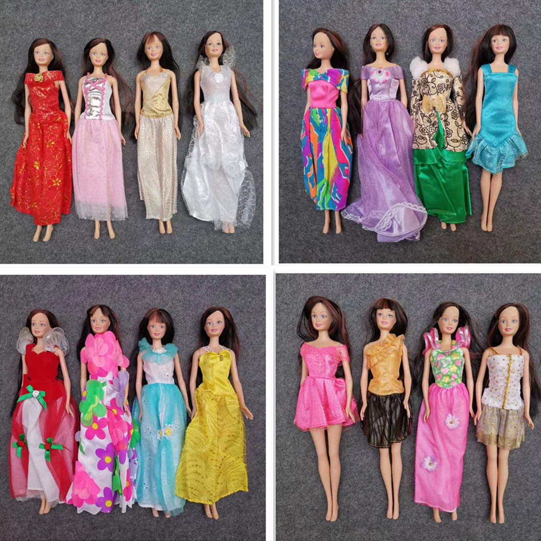 30cm Doll  With Makeup Sandra Doll Body  Children's Doll Toys Free Shoes