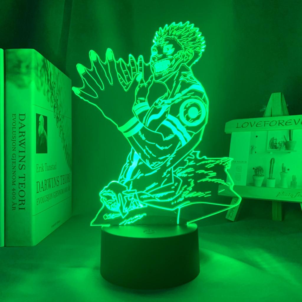 H5ef9b097bbf0422a966ff3be429c1619l Luminária Luz da noite do diodo emissor de luz da noite para o presente de aniversário jjujutsu kaisen nightlight ryomen sukuna lâmpada