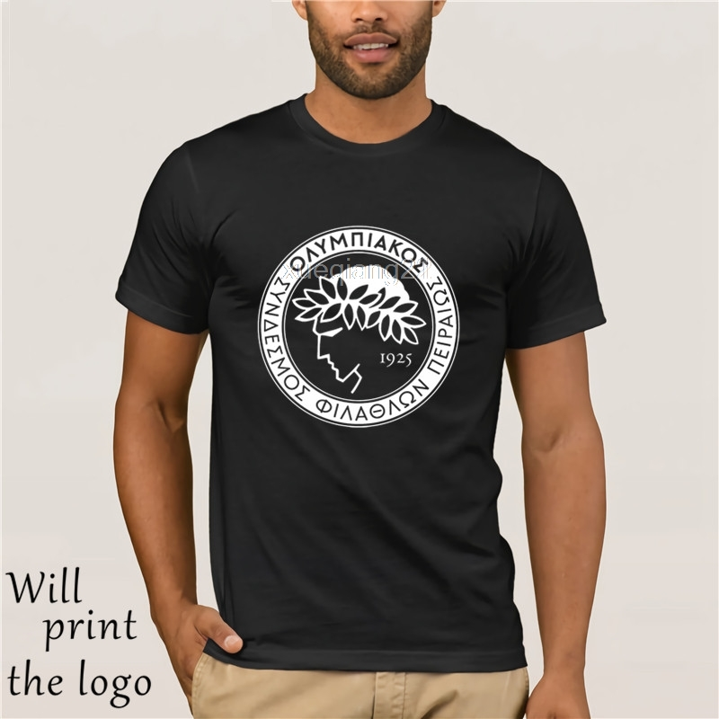 Grecia Olympiacos FC T Shirt Camiseta Olympiakos Piraeus Club Atene Piraeus Marrone Ideye Fortounis GIANNIS MANIATIS Fan T-Shirt