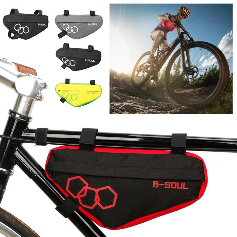 Bike Front Tube Frame Bag Bicycle Cycling Triangle Bag Road MTB Pouch Pannier US