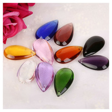 Chandelier Decoration Curtain Prisms Pendant Christmas-Hanging-Ornaments Crystal Flat-Waterdrop