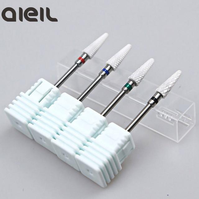 Ceramic Cutter Nail Drill Bit Ceramic Cutters For Manicure Machine Cutter for Manicure Milling Cutter for Nail Art Tool 2