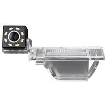 Misayaee Car Rear View Reverse Parking Camera Golden 8 Led for Peugeot 408 308 307cc 301 RCZ 307 Cross 2C Hatchback Inf