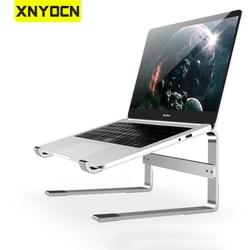 Xnyocn support d'ordinateur portable 10-18 pouces support en alliage d'aluminium support de Dissipation de chaleur support de montage pour ordinateur portable accessoires de bureau pour Macbook Air 13 Dell Xiaomi