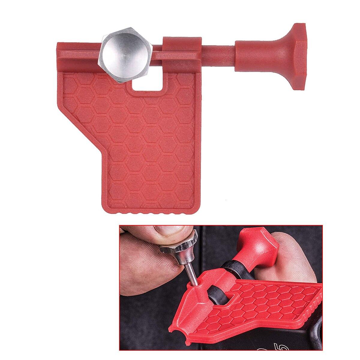 AR15 .223 5,56 инструмент с поворотным штифтом, демонтажный инструмент с поворотным штифтом, красный инструмент для установки